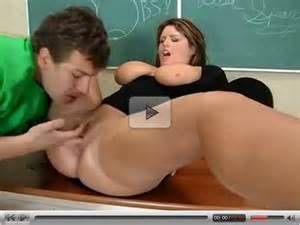 Fat Teacher With Shaved Pussy Fucked Big Ass Boobs