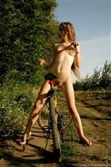 Kate Hairy Pussy Teen On Bike