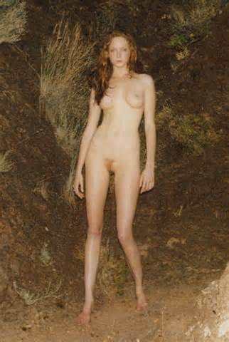 Lily Cole Full Frontal Nude Showing Shaved Pussy And Almost Shaved