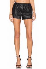 BLANKNYC Faux Leather Short In Pussy Cat REVOLVE