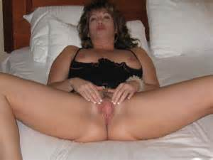 Mature Wife Spreads Her Legs And Shows Off Her Wet Pussy