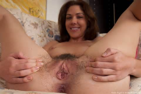 Spreads Her Beautiful Hairy Pussy Hairy Girl Central Hairy Pussy