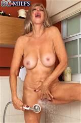 Christy Cougar Hot 60 Plus Busty Granny Taking Bath Sexy 50