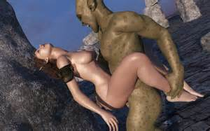 3d Alien Porno Elf Queen Destroyed By Goblins