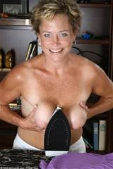 Mom Shows Her Saggy Tits From All Over 30