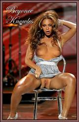 Beyonce Knowles Showing Her Pussy And Tits And Fucking Hard From