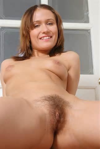 Girl With Short Haircut Shows Her Hairy Vagina Russian Sexy Girls